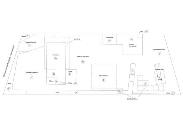 Immagine n1 - Planimetria - Complessivo - Asta 9532