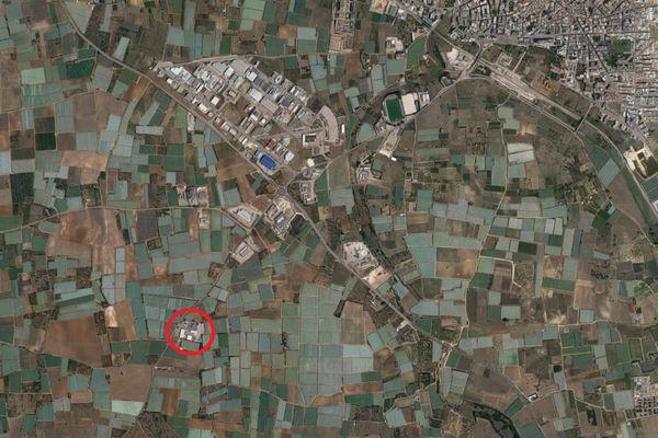 Immagine n0 - Planimetria - Vista aerea - Asta 9533