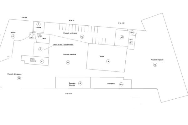 Immagine n1 - Planimetria - Complessivo - Asta 9533