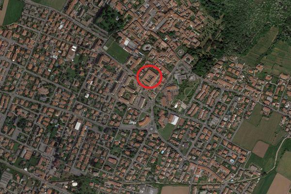 Immagine n0 - Planimetria - Vista aerea - Asta 9536