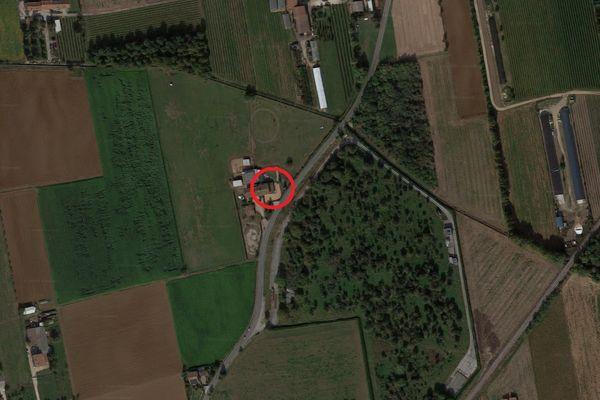 Immagine n0 - Planimetria - Vista aerea - Asta 9545