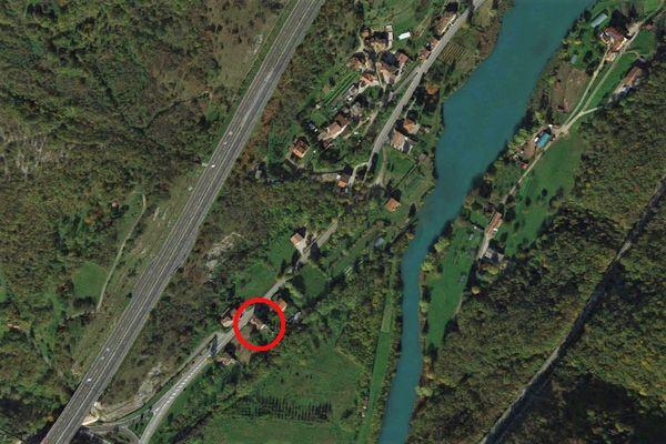 Immagine n0 - Planimetria - Vista aerea - Asta 9554