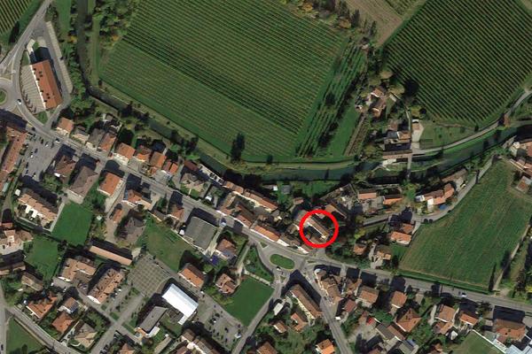 Immagine n0 - Planimetria - Vista aerea - Asta 9560