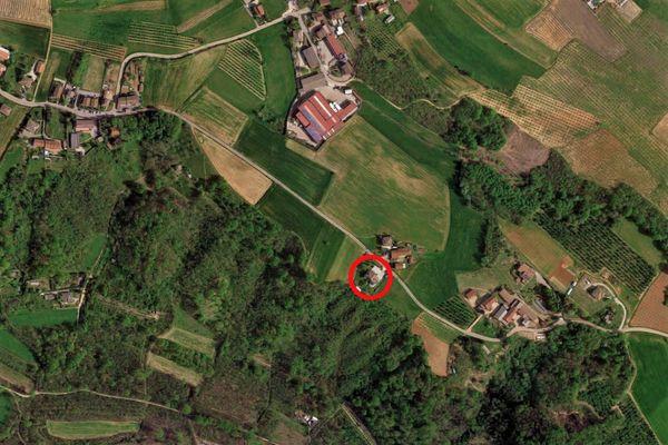 Immagine n0 - Planimetria - Vista aerea - Asta 9573