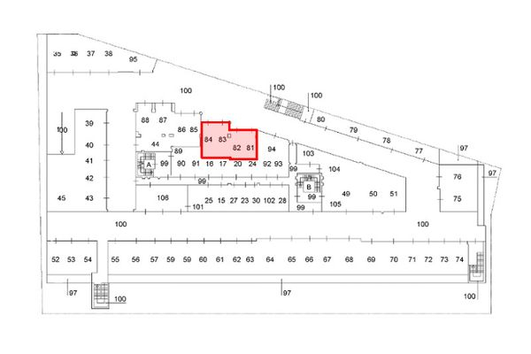 Immagine n0 - Planimetria - Piano interrato - Asta 9622