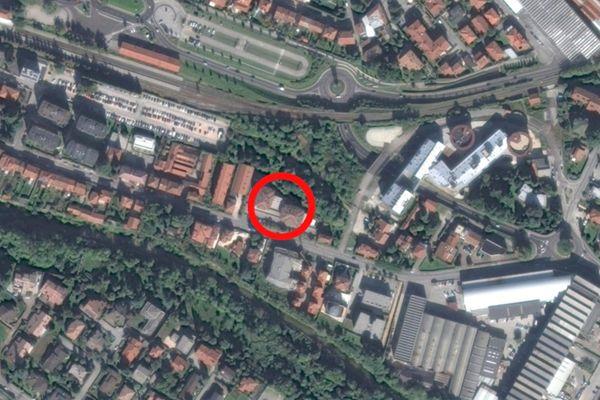 Immagine n0 - Planimetria - Vista aerea - Asta 9624