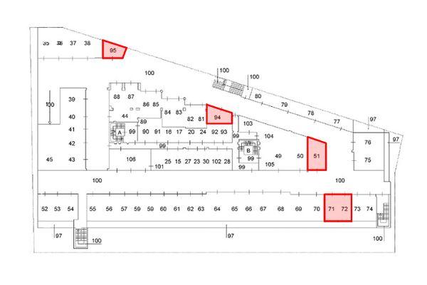 Immagine n2 - Planimetria - Piano interrato - Asta 9624