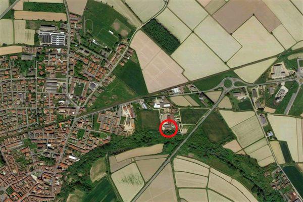 Immagine n0 - Planimetria - Vista aerea - Asta 9639
