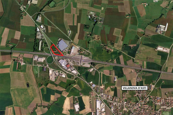 Immagine n0 - Planimetria - Vista aerea - Asta 9645