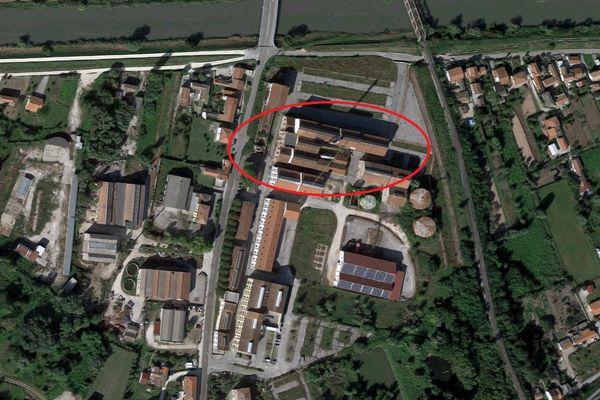 Immagine n1 - Planimetria - Vista aerea - Asta 9649