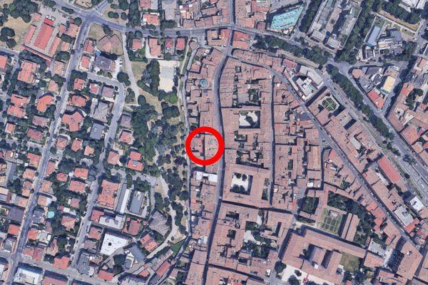 Immagine n0 - Planimetria - Vista aerea - Asta 9653
