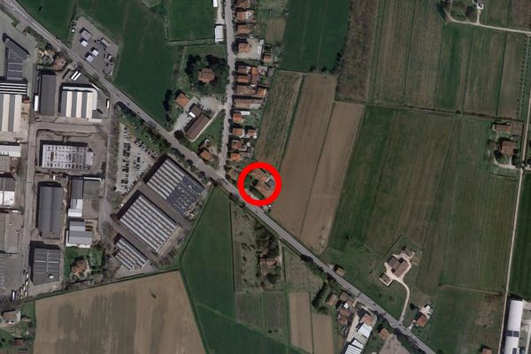 Immagine n0 - Planimetria - Vista aerea - Asta 9654