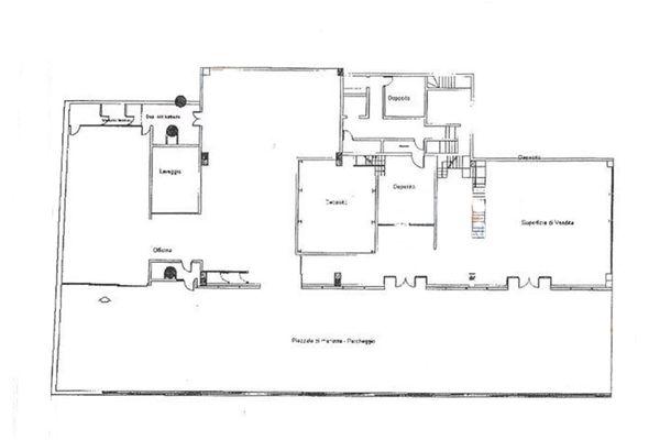 Immagine n1 - Planimetria - Piano terra - Asta 9689