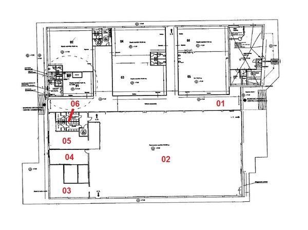 Immagine n6 - Planimetria - Piano terra - Asta 969