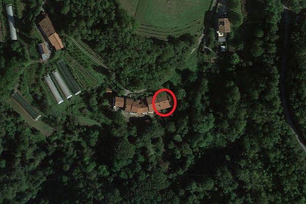 Immagine n0 - Planimetria - Vista aerea - Asta 9695