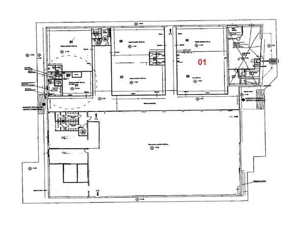 Immagine n1 - Planimetria - Piano terra - Asta 970
