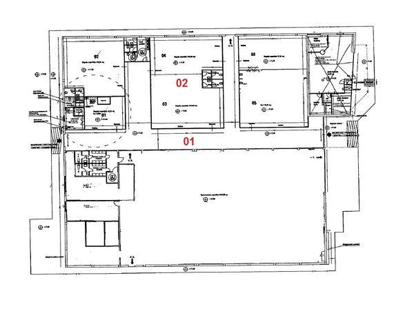 Immagine n2 - Planimetria - Piano terra - Asta 971