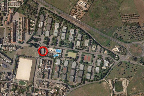 Immagine n2 - Planimetria - Vista aerea - Asta 9711