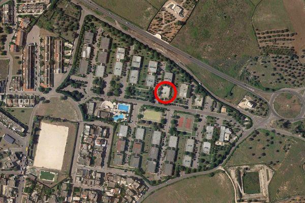 Immagine n1 - Planimetria - Vista aerea - Asta 9717