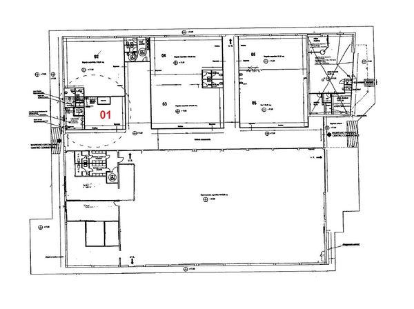 Immagine n1 - Planimetria - Piano primo - Asta 973
