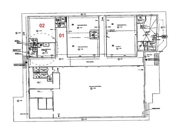 Immagine n2 - Planimetria - Piano terra - Asta 974