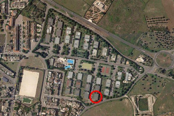 Immagine n1 - Planimetria - Vista aerea - Asta 9748