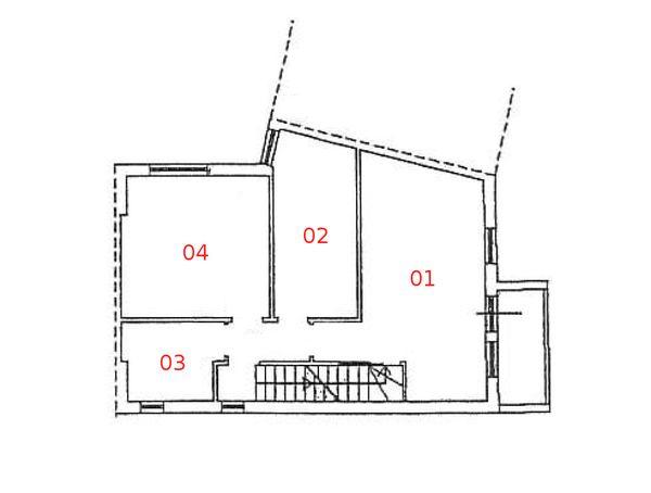 Immagine n4 - Planimetria - Piano primo - Asta 975