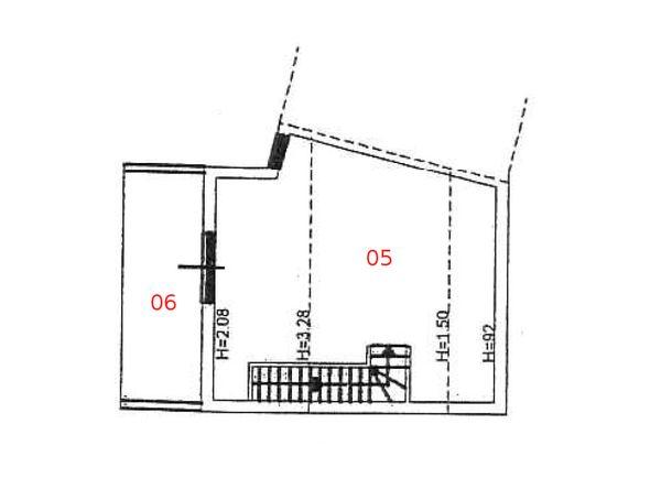 Immagine n2 - Planimetria - Piano secondo - Asta 975