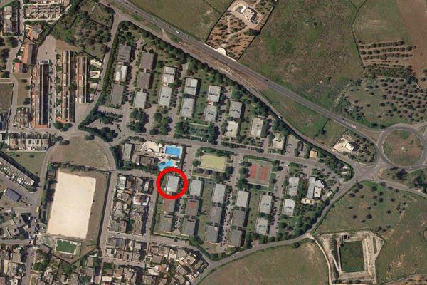 Immagine n1 - Planimetria - Vista aerea - Asta 9754