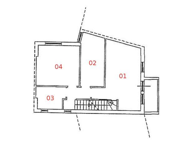 Immagine n4 - Planimetria - Piano primo - Asta 976