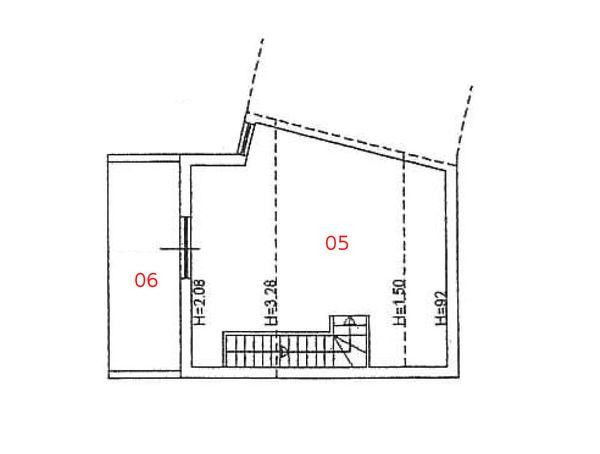 Immagine n2 - Planimetria - Piano secondo - Asta 976