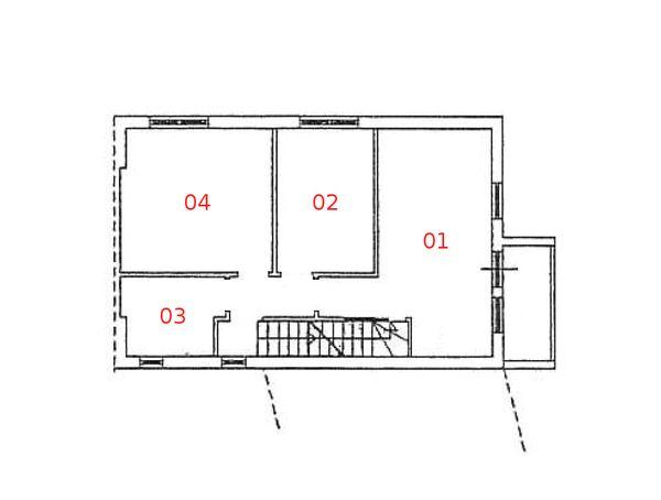 Immagine n4 - Planimetria - Piano primo - Asta 977