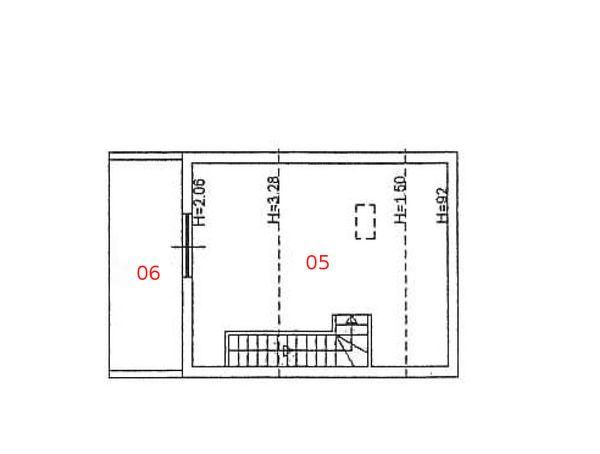 Immagine n2 - Planimetria - Piano secondo - Asta 977