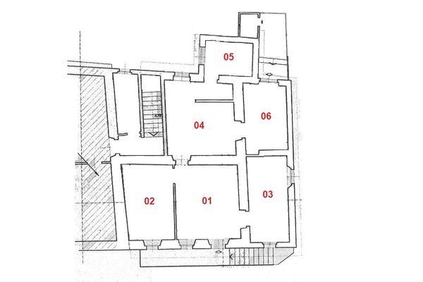Immagine n1 - Planimetria - Piano primo - Asta 9776