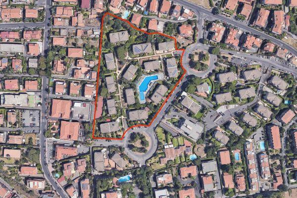 Immagine n0 - Planimetria - Vista aerea - Asta 9784