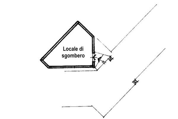 Immagine n0 - Planimetria - Piano interrato - Asta 9784