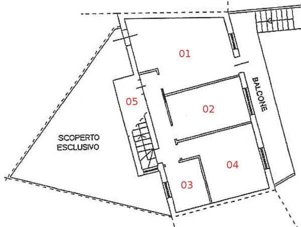Immagine n5 - Planimetria - Piano terra - Asta 979