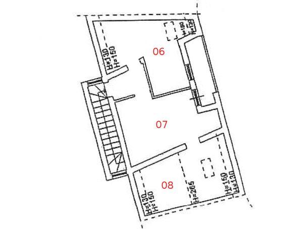 Immagine n3 - Planimetria - Piano primo - Asta 979