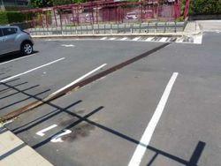 Posto auto scoperto al piano terra (sub. 82)