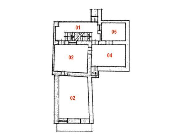 Immagine n1 - Planimetria - Piano primo - Asta 9830