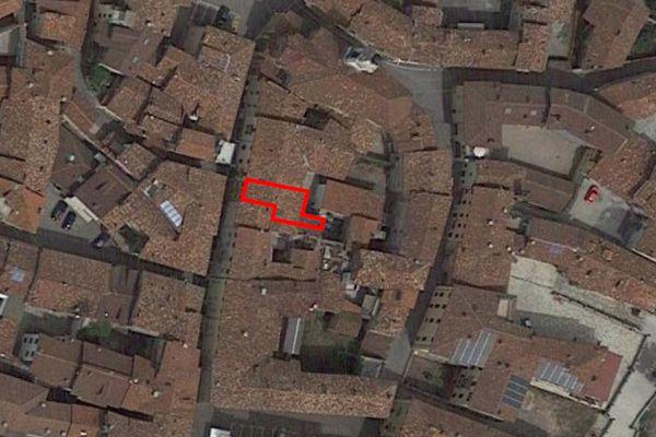 Immagine n1 - Planimetria - Vista aerea - Asta 9831