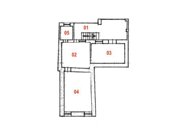 Immagine n1 - Planimetria - Piano secondo - Asta 9831