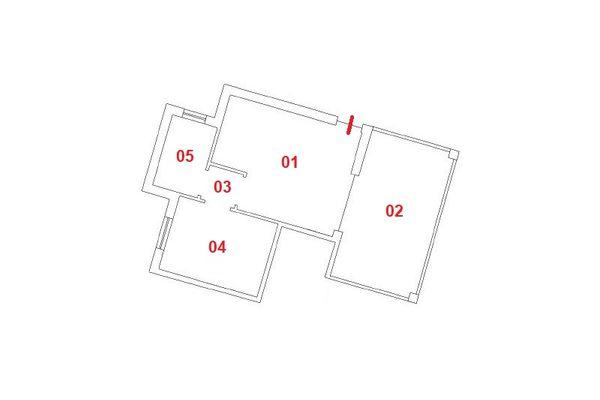 Immagine n0 - Planimetria - Piano primo - Asta 9850