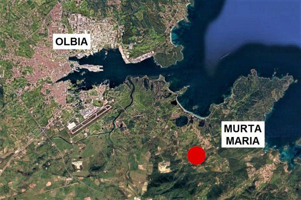 Immagine n1 - Planimetria - Vista aerea - Asta 9853