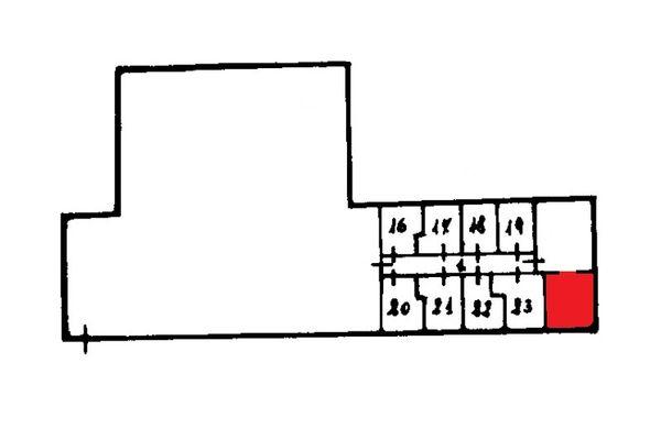 Immagine n1 - Planimetria - Piano interrato - Asta 9863