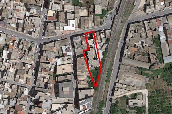 Immagine n0 - Planimetria - Vista aerea - Asta 9875