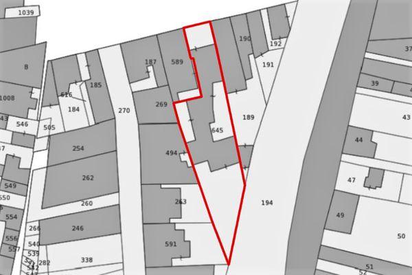 Immagine n1 - Planimetria - Estratto di mappa - Asta 9875