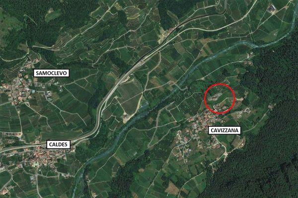 Immagine n0 - Planimetria - Vista aerea - Asta 9881