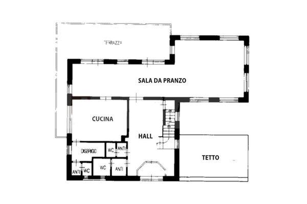 Immagine n1 - Planimetria - Piano terra - Asta 9881