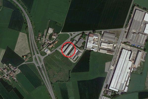 Immagine n0 - Planimetria - Vista aerea - Asta 9899